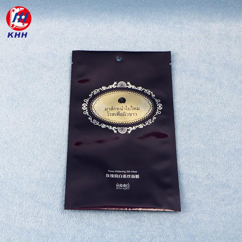 高档蚕丝面膜包装袋