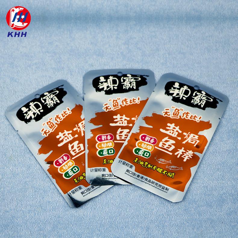 盐焗鱼棒休闲食品包装袋