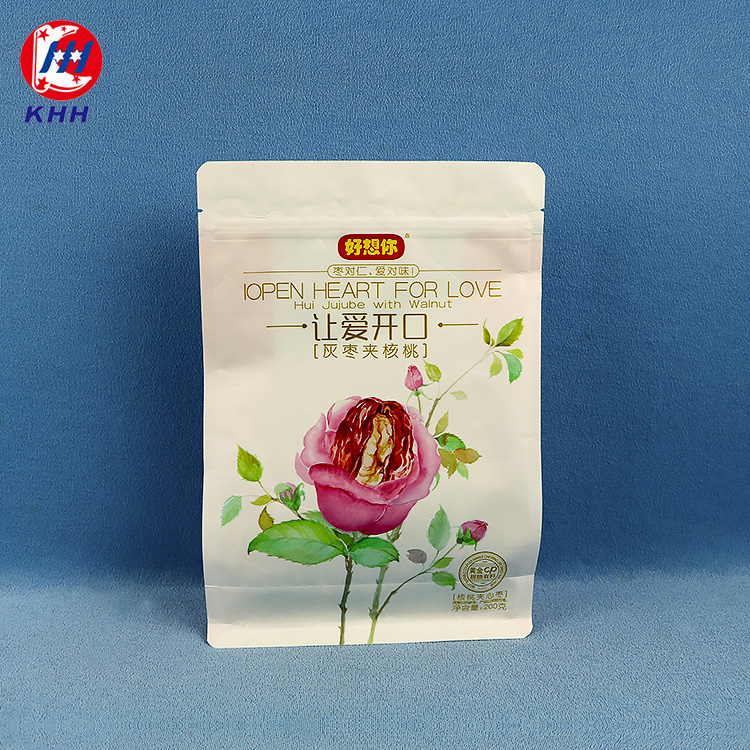 红枣八边封休闲食品包装袋