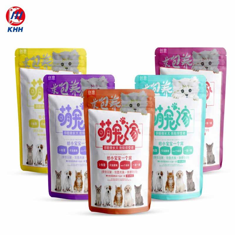 创意宠物食品袋