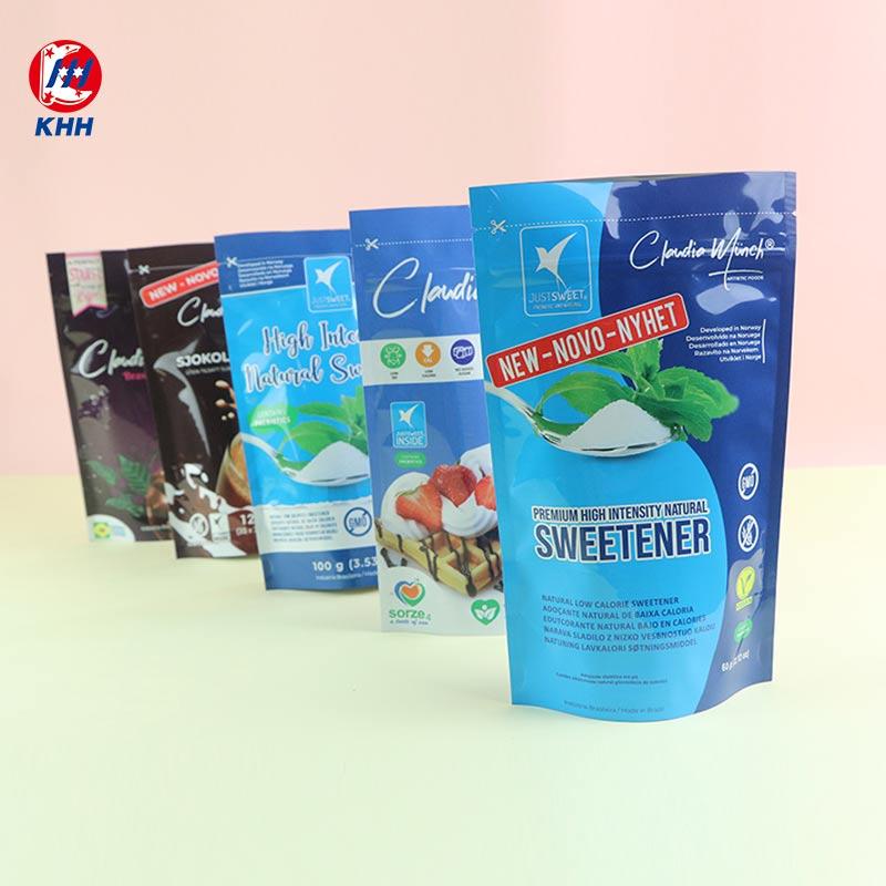 「自立拉链袋」甜味剂包装袋